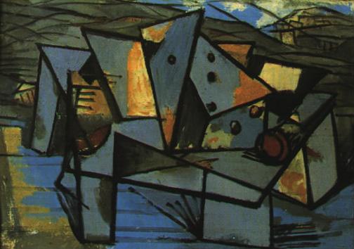 Marcel Iancu, Construcţie abstractă