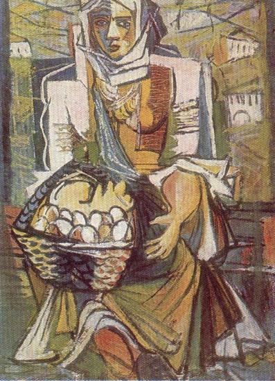 Marcel Iancu, Ţarancă cu ouă