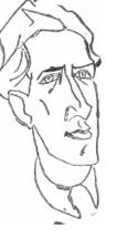 Portretul lui Ion Vinea, de Marcel Iancu